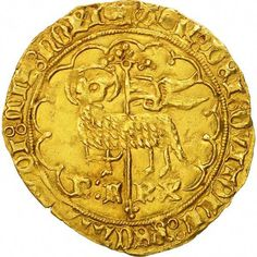 Unfortunately, this collectible item is no longer available ! ➽ Ask us to find it for you : Coin France Charles VI Agnel d'or Troyes Gold Gold Bullion Bars, French Coins, Medieval, Gold Money, Gold Stock, World Coins, Rare Coins, Coin Collecting, France
