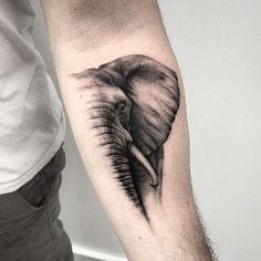 Unique Beautiful Elephant Tattoos Design