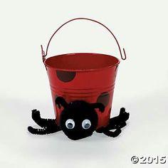 Lady bug pail