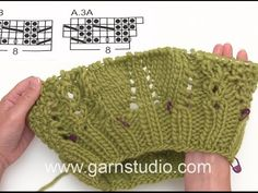 DROPS Knitting Tutorial: How to work the neck warmer in DROPS 171-18 - YouTube