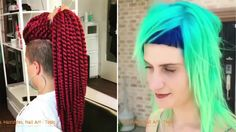 NEW Hair Color Transformation - Amazing Hairstyles Tutorial!