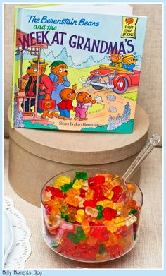 A Storybook Themed Baby Shower... The Berenstein Bears, and many other favorites, help create this gender neutral party! It includes DIY decorations, free printables, and classic children's books to go along with a variety of tasty sweets and snacks!