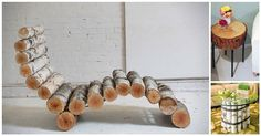 Bring Rustic Charm Into Your Home With These Log DIYs