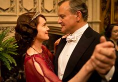 Earl Grantham and his countess in Downton Abbey 4.06