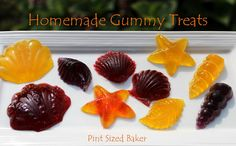Homemade Gummy Candy from Pint Sized Baker