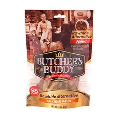 Rawhide Alternative Braided Chews - BD Luxe Dogs & Supplies - 1