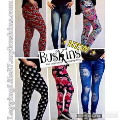 New!! Don't miss out, some of these will sell out fast!!  LeggingLife87.mybuskins.com