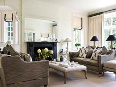 A modern interior design based on the Edwardian style interiors