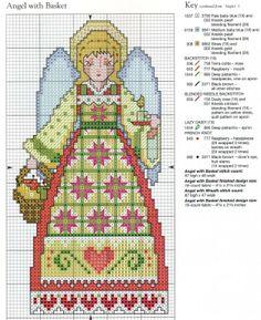 Patrones punto de cruz (solo country) (pág. 17) | Aprender manualidades es facilisimo.com