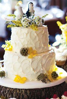 Rustic Wedding Cake Ideas  ♥ Wedding Cake Design | Suslu Dugun Pastalari