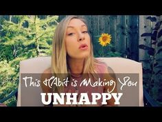 This Habit Is Making You Unhappy. And we are all guilty of it. Self Help, Calm, Make It Yourself, Artwork, How To Make, Blog, Work Of Art, Auguste Rodin Artwork, Blogging