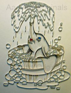 quilling elephant - Google Search