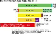 遺伝子組み換え大豆は何に使われる? 日本のスーパー加工食品を買えばほぼ100%遺伝子組換え食品…