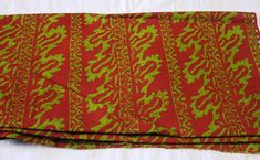 Marcus Brothers Textiles Cotton Batik by the by VictorianWardrobe, $7.99