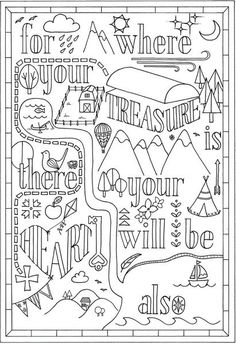 32 Best Bible Coloring Pages / Bible Verse Art images