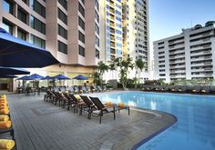 Bangkok : Rembrandt Hotel Pool