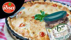 Rica quiche natural con tomates frescos y champiñones ecológicos IBSA Bio #conservamoslanaturaleza #ibsa #bierzo #bio #champiñones #ecológicos #orgánicos