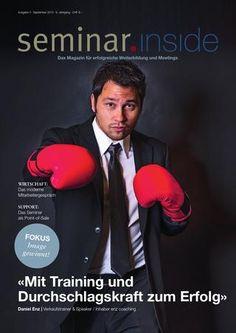 """Top Artikel von mir in der Herbstausgabe von """"seminar inside"""" - Onoarding! Wie es wirklich funktioniert! Lies es hier!"""