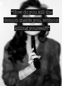 ...self harm