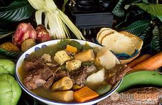 Olla de Carne    Olla de Carne is a flavorful and nutrient-rich stew made with huge chunks of beef, potatoes, carrots, chayotes, plantains, yuccas, sweet potatoes, green plantains, and camotes.