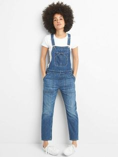 1d6f6b1d6f2 Gap Relaxed Denim Overalls in 2019