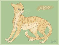 Warrior Cats - Sandstorm by VanyCat.deviantart.com on @DeviantArt