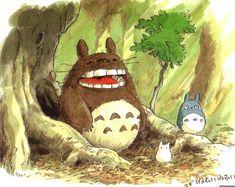 My Neighbor Totoro (1988) - Character Design