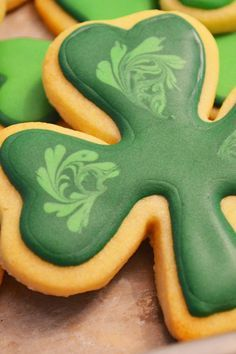 St Patrick's Day Shamrock Cookies Recipe