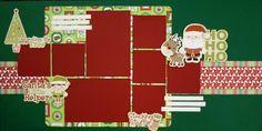 Two Scrapbook Friends: HoHoHo Christmas Kit