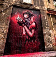 "6,385 Me gusta, 23 comentarios - 33third Media (@33thirdmedia) en Instagram: """"The Big Bad Apple"" Artist: Goin in Grenoble, France Follow @33thirdmedia"""
