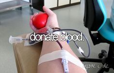 29-04-2014 was my first donating blood, it was before i start thinking about the…