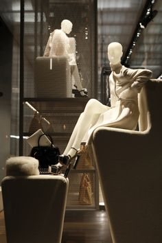 The World's Fashion Windows, Online in Real-Time · PRADA, New York,  January 2013