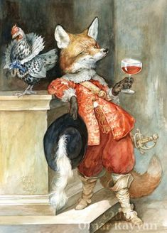 """""""Sly Fox"""" by Omar Rayyan (2009). (ez nagyon én vagyok! omg)"""
