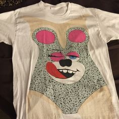 Miley Cyrus T shirt Size adult large Miley Cyrus t-shirt. Purchased from a costume store. Tops Tees - Short Sleeve