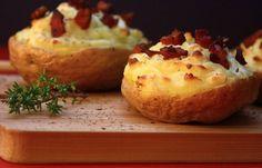 IMG 44421 1024x656 De grosses patates...   Pommes de terre cuites deux fois (Twice baked potatoes)