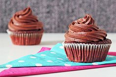 Vegan Cupcake Recipe Healthy Living in Paris. I dare someone to make this first.