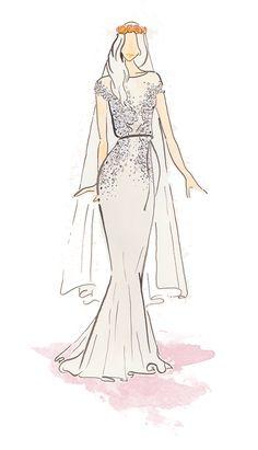 Embellished #weddingdress // Top Wedding Dress Trends for 2015 - Part 2 #embellishments