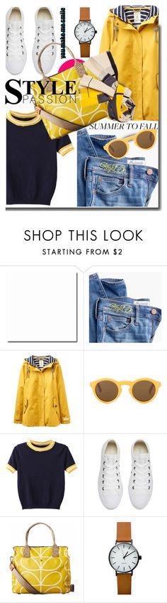 """Storn"" by soks ❤ liked on Polyvore featuring Madewell, Joules, WithChic, OTTO, Converse, Orla Kiely and polyvoreeditorial"