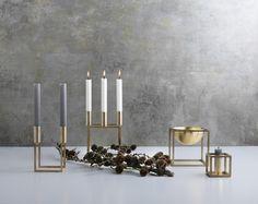 Ein bisschen Gold und Silber: Kubus von byLassen | online kaufen im stilwerk shop | ab € 129,-