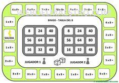Juegos de matemáticas para imprimir - Web del maestro Waldorf Math, Math Magic, Math Multiplication, Early Math, Speech Language Therapy, Math For Kids, Math Classroom, Teaching Math, Math Centers