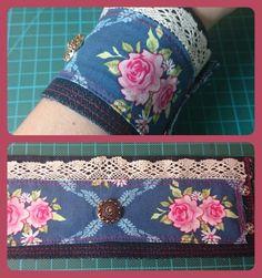 Armband aus alter Jeans
