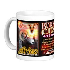 Nothing says Aries like Valxart Aries Taurus cusp astrology Coffee Mug. Awesome Aries at http://www.zazzle.com/valxart+aries+gifts