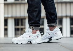 Cheap Shoes From China: Reebok Insta Pump Fury Triple White Sneaker