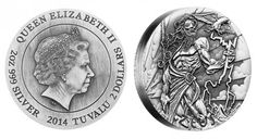 """Are you into Greek mythology?  Check out this new collectible silver coin series, """"Gods of Olympus."""""""