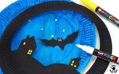 Paper Plate Bat Puppet Craft & Paper Plate Bat Puppet Craft | Puppet crafts Puppet and Bats