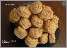 Habverő és fakanál: Túrós pogácsa Muffin, Breakfast, Food, Morning Coffee, Muffins, Meal, Essen, Hoods, Cupcakes