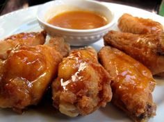 Honey Chipotle-Glazed Wings from Food.com: Tasty wings with a hint of honey and the smokey delicious flavor of Tabasco Chipotle.