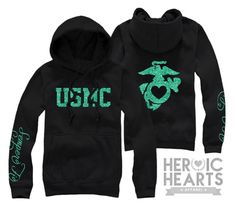 #USMC #military #veterans USMC hoodie! Http://heroicheartsapparel.com - Post Jobs and Become a Sponsor at www.HireAVeteran.com