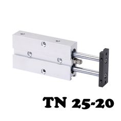 TN25-20 Two-axis double bar cylinder cylinder Pneumatic Component TN Series 25mm Bore 20mm Stroke Twin Rod Air Cylinder #Affiliate