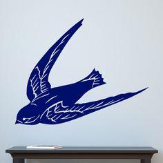 Swallow Diving Bird Wall Sticker – Decal – d